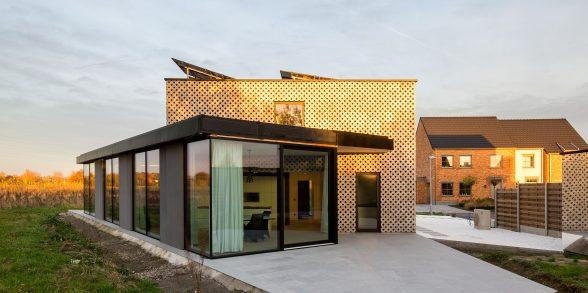 Roeselare BEN-woning grasdallen ROBUUST architectuur en onderzoek