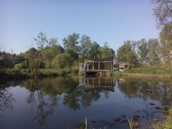 ROBUUST architectuur project MOERZEKE vakantiewoning